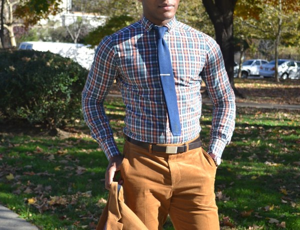 Commonwealth Proper Plaid Made in Philadelphia Button Down Shirt on Men's Style Pro