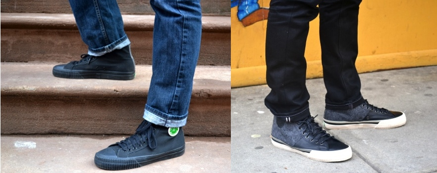 Versus: How We Rock Our PF Flyers High Tops