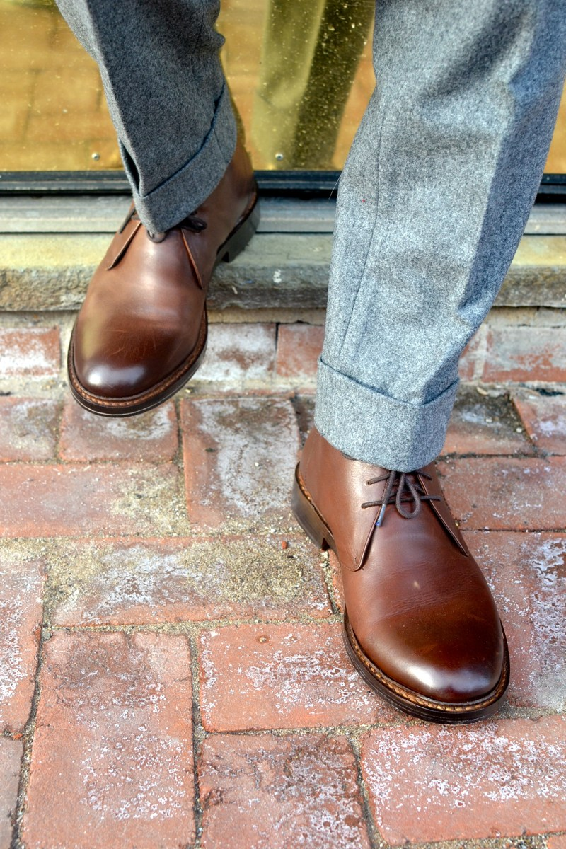 Chukka Boots & Winter Suits 3 Ways