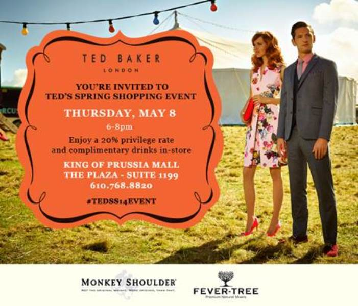 Ted Baker KOP Mall Event SS 14