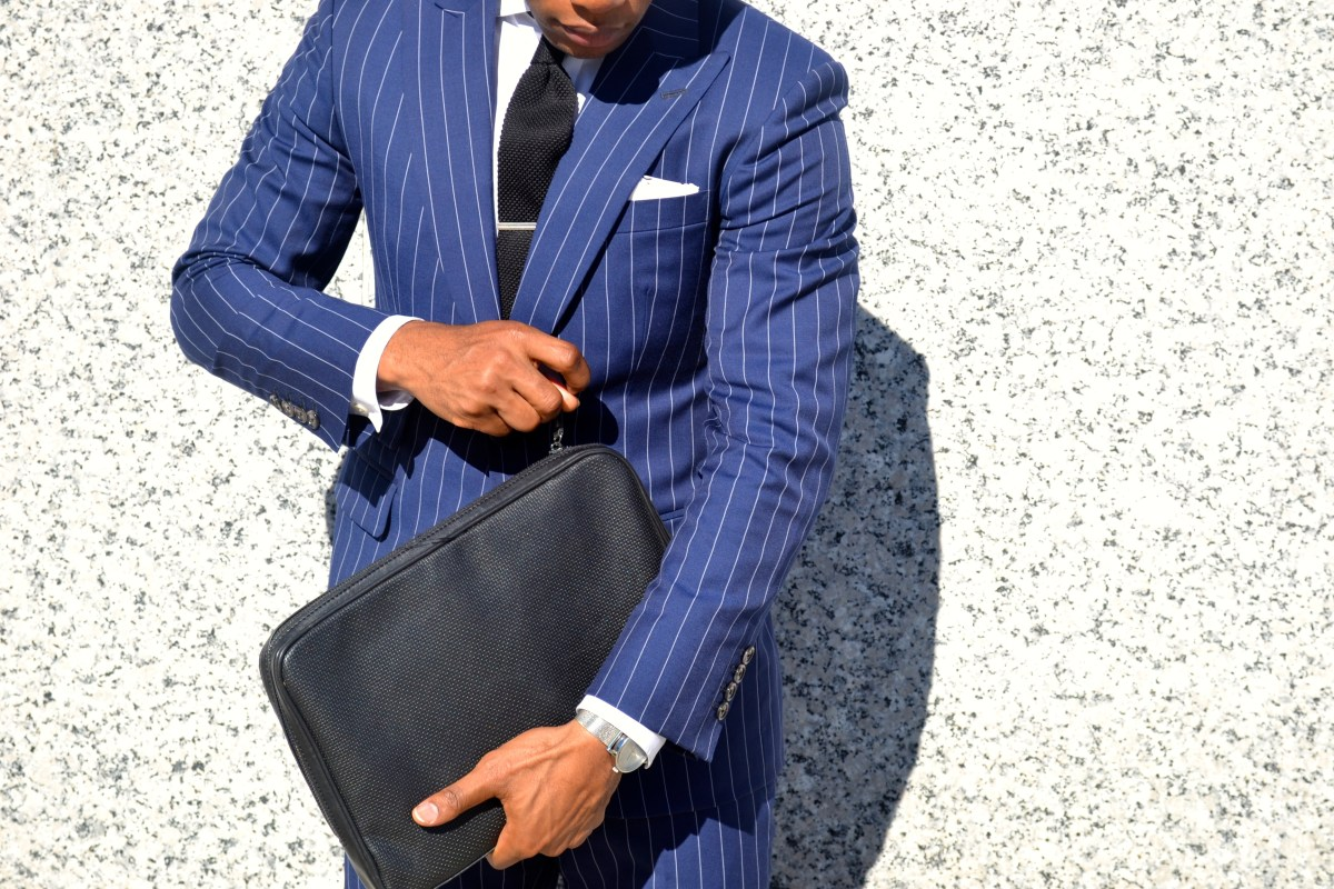 The All-Year Chalk Stripe Suit 4 Ways