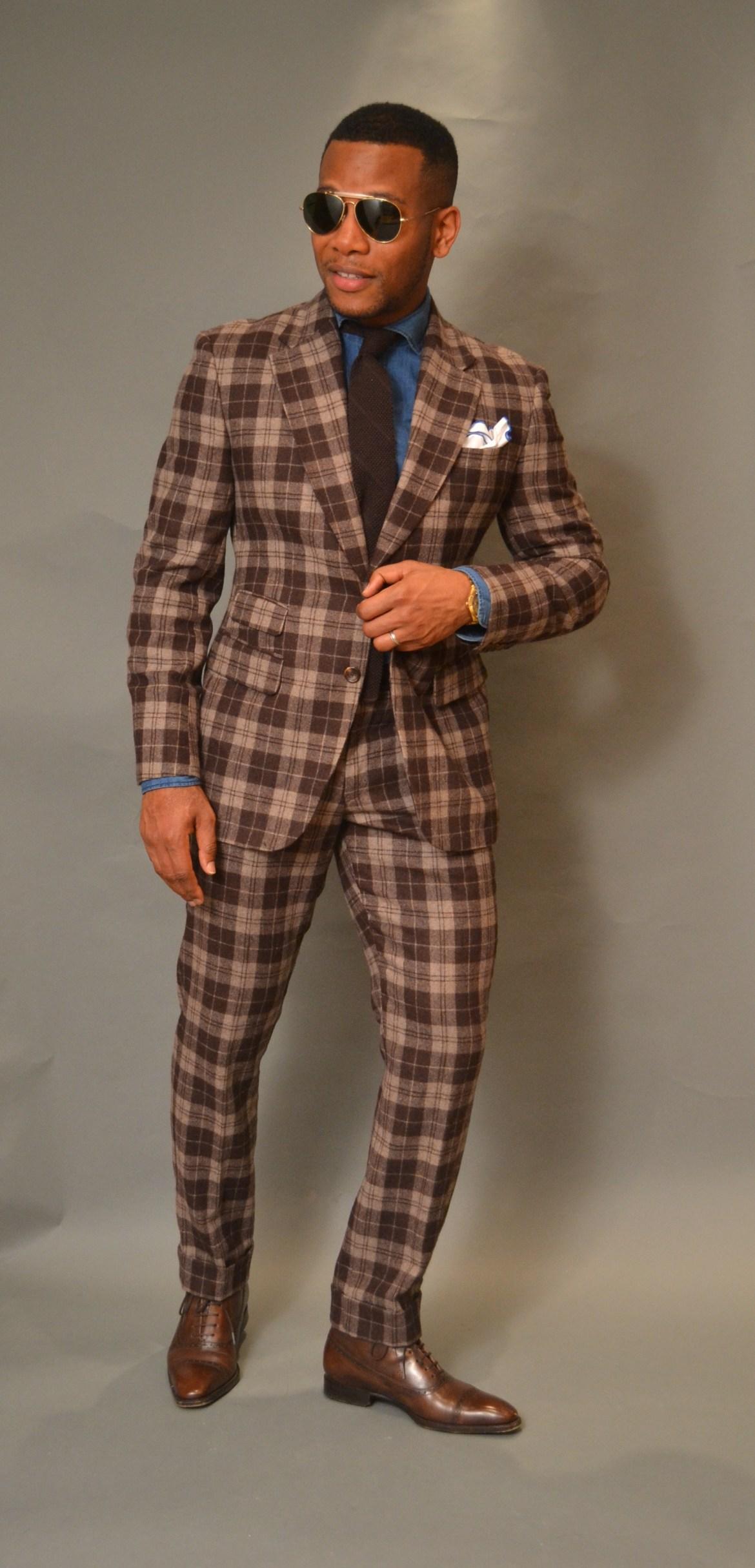StudioSuits Bold Plaid Suit Review On Men's Style Pro