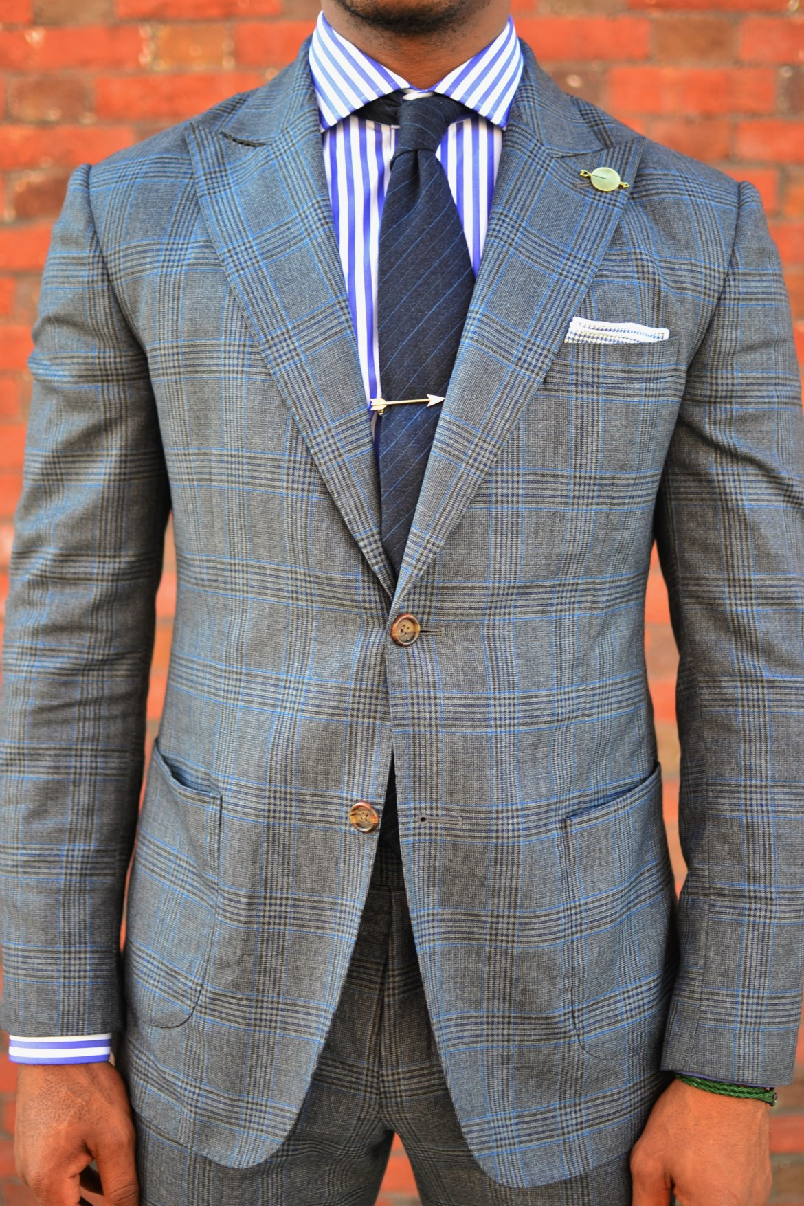 Buttons & Threads Glen Plaid Suit Review On Men's Style Pro