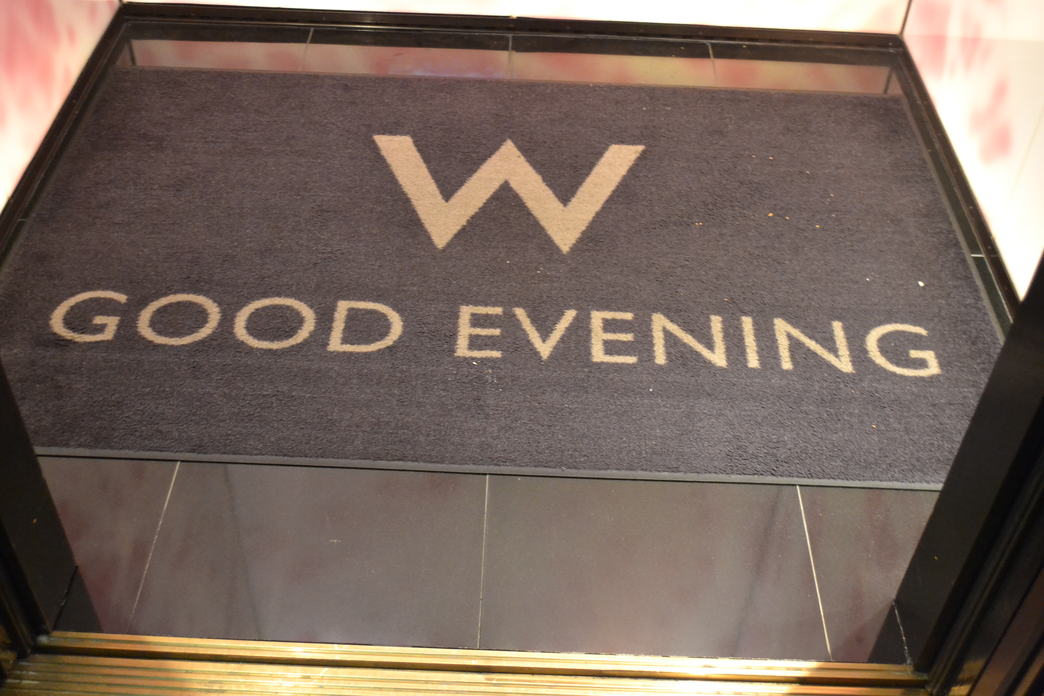 Elevator Welcome Mats at W Hotel NY Downtown