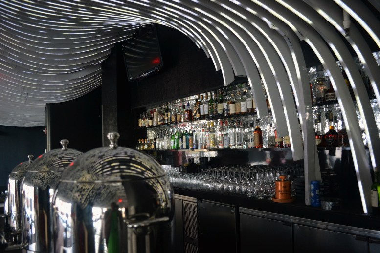 The Bar In The Livingroom At W Hotel NY Downtown