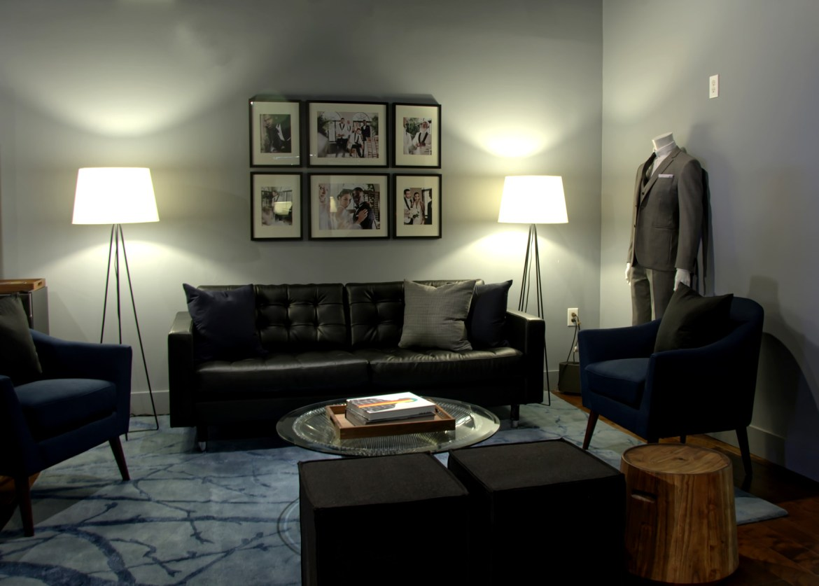Indochino Philly Grooms Lounge
