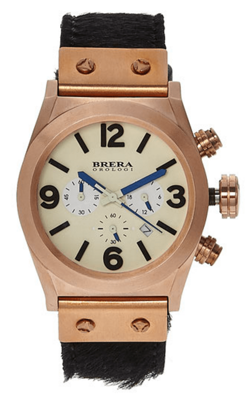 Brera Orologi Bret2c3859 Rose Gold tone watch
