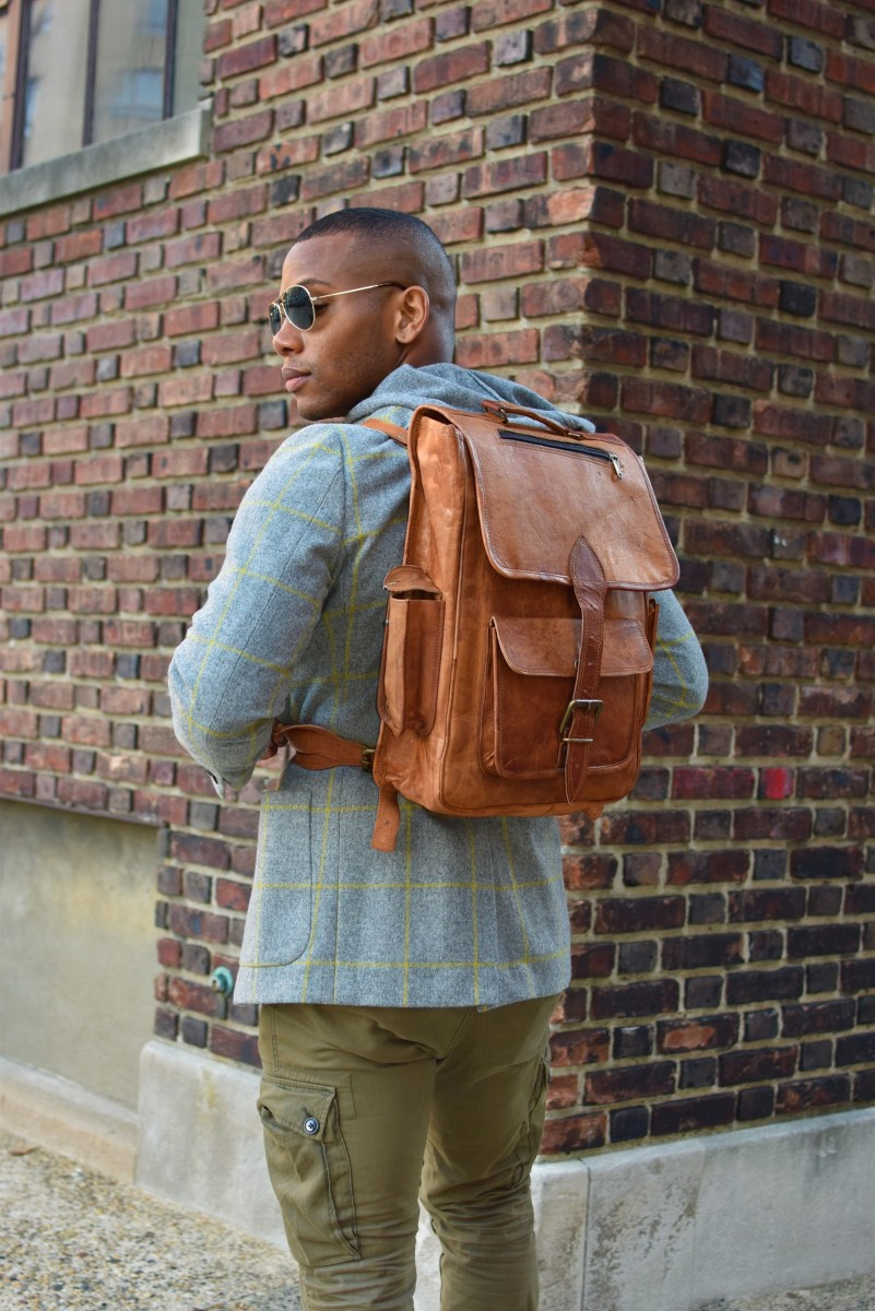 Product Review: The High On Leather Vintage Leather Backpack