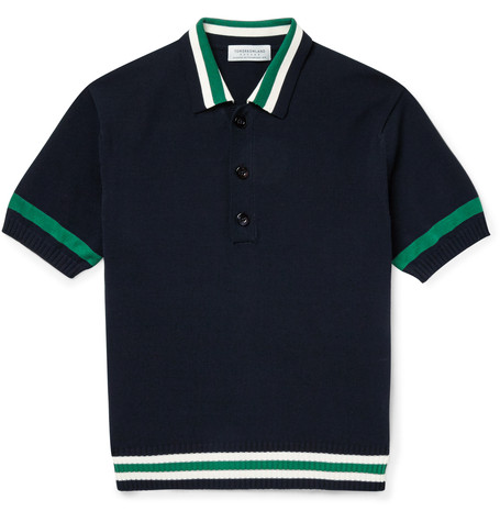 Retro Knit Polo Power