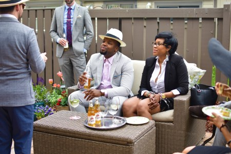 Men's Style Pro Stella Artois Cidre Kentucky Derby Party