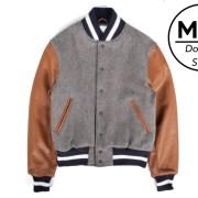 P's & Q's Golden Bear Varsity Jacket