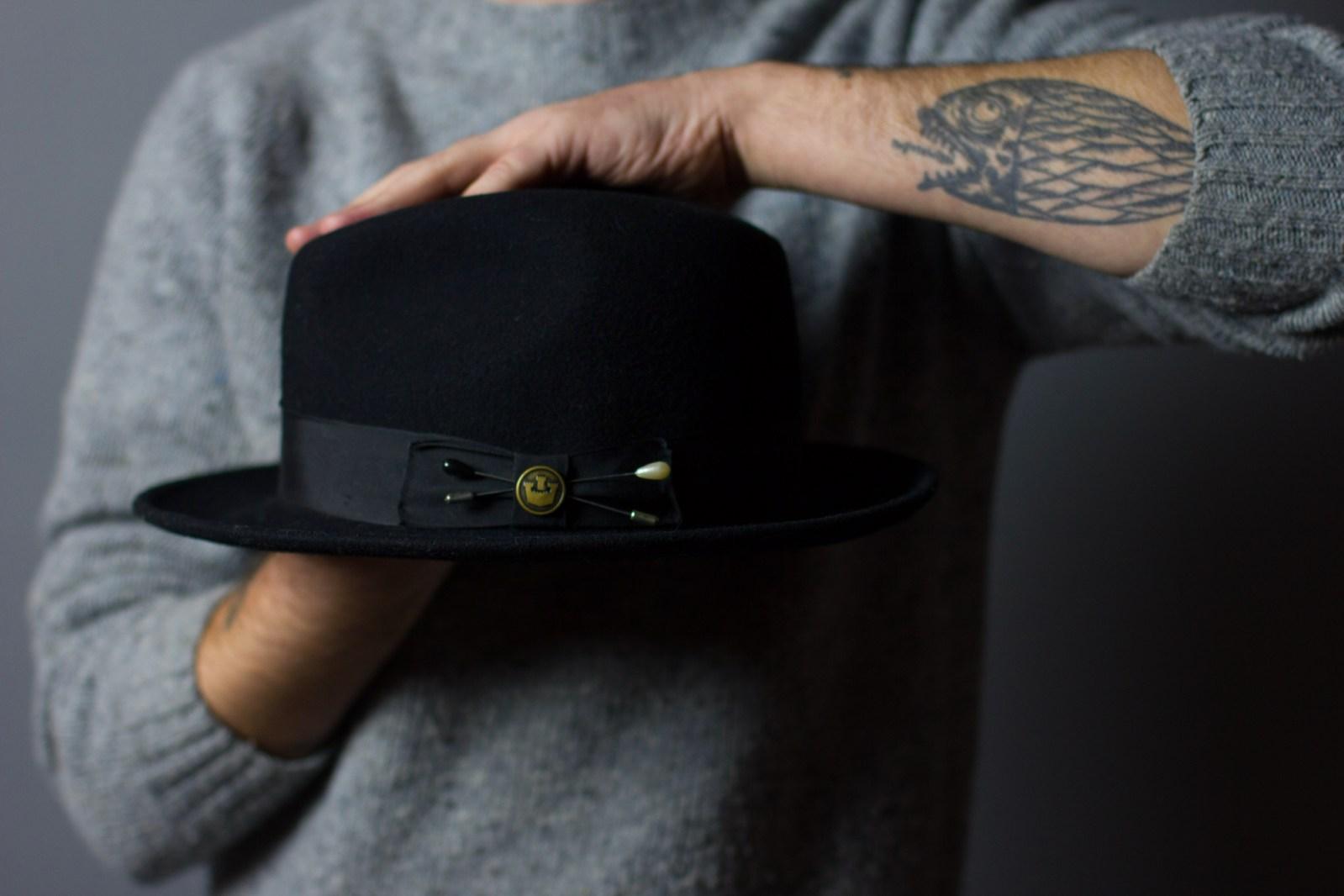 Jason Silen of Goorin Bros Hat Shop Rittenhouse