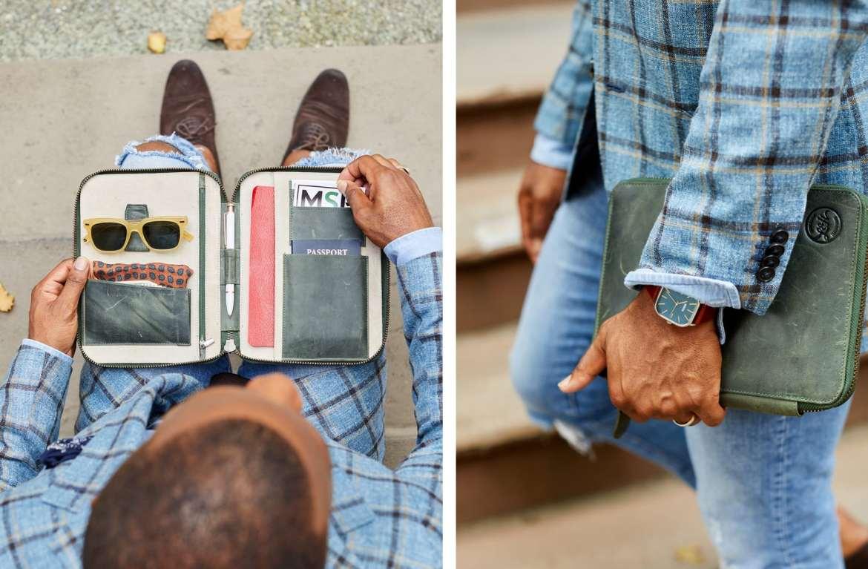 lorton and horton travel wallet