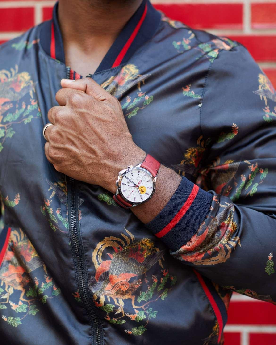 Baume et Mercier Clifton Club Indian Tribute Watch via Govberg Jewelers
