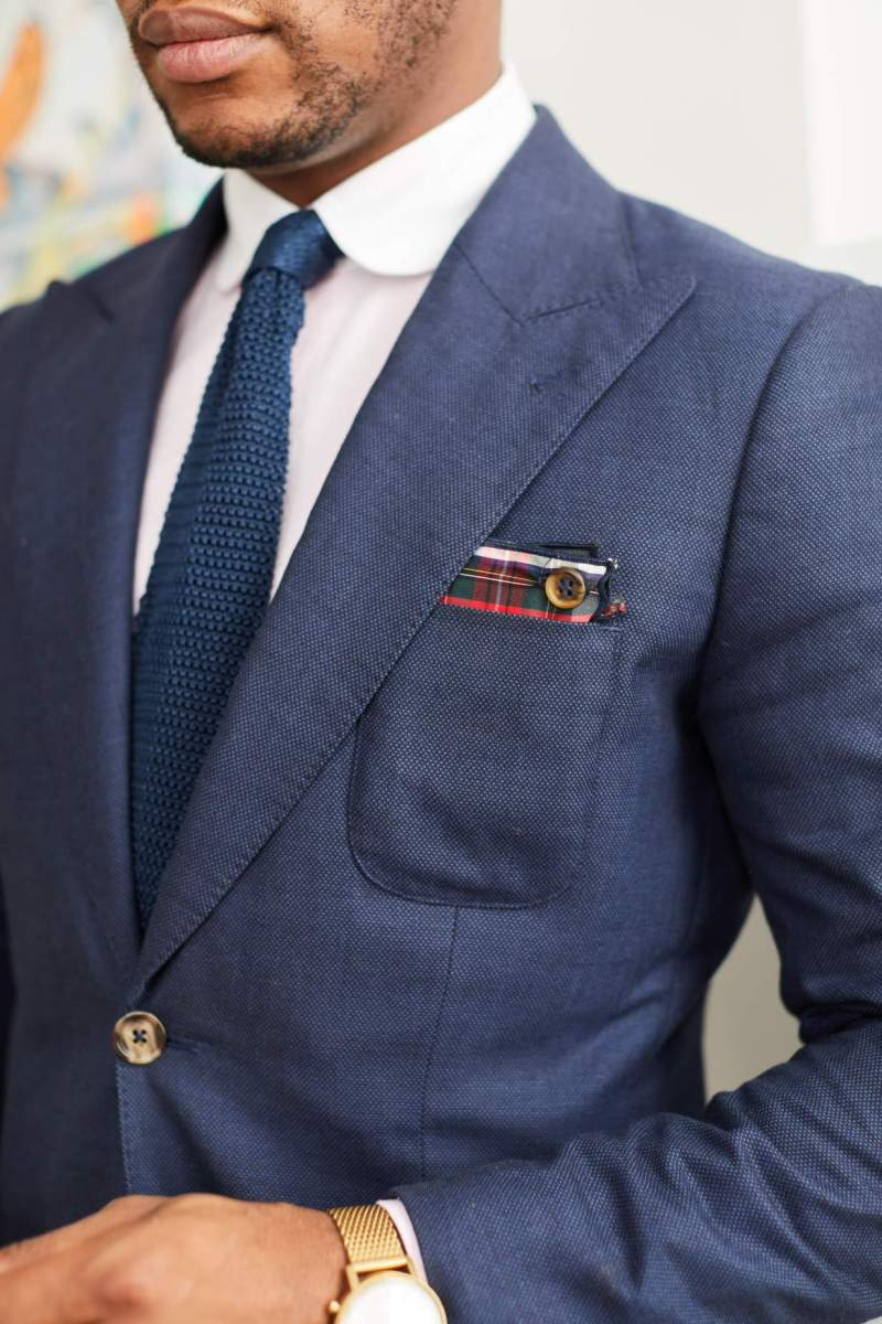 Armstrong & Wilson x Men's Style Pro Winter 18 Pocket Square Collection