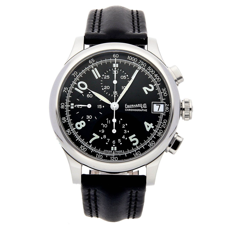Eberhard Traversetolo Watch via Watchbox
