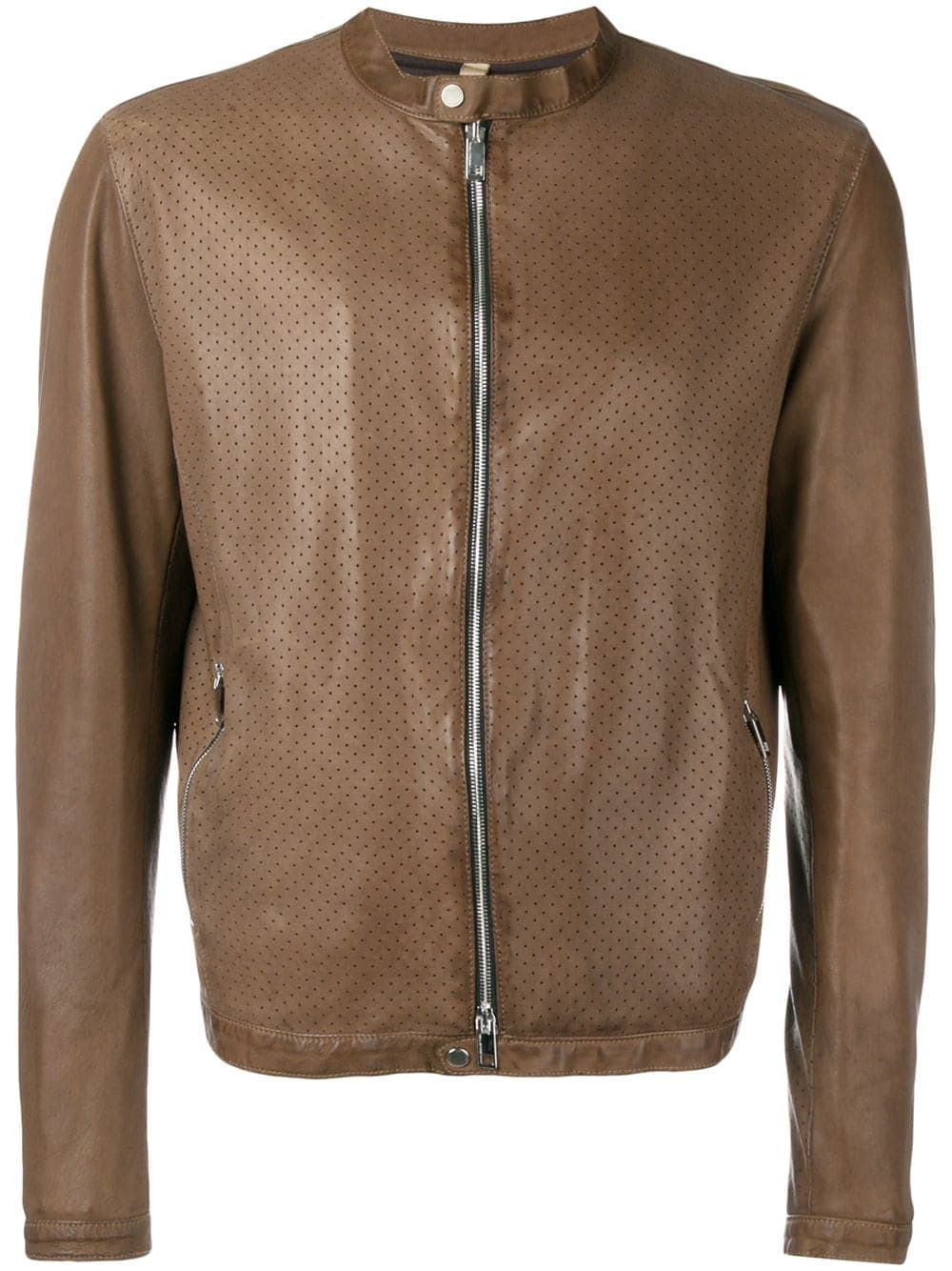 Tagliatore Perforated Bomber Jacket (farfetch)