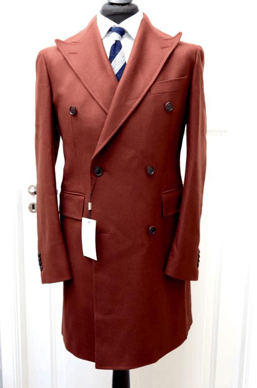 Bleecker Chocolate Overcoat