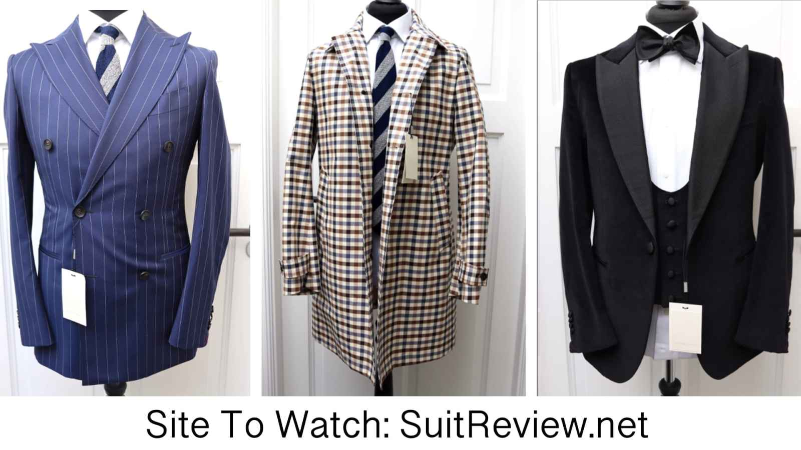 SuitReview.net site To Watch on Men's Style Pro