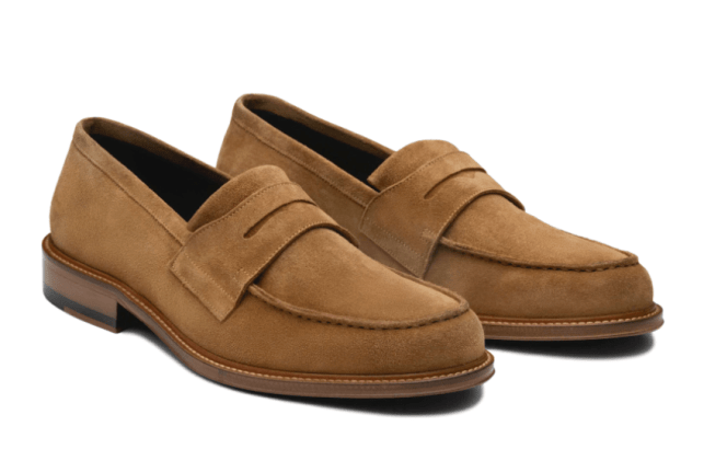Ankari Floruss Monday Suede Penny Loafer