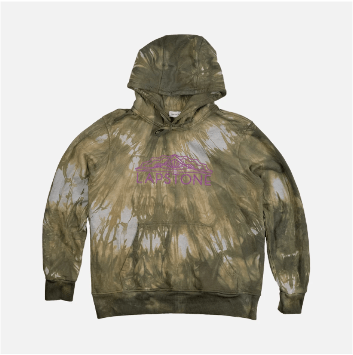 Two Rivers French Terry Marble Tie Dye Hoodie