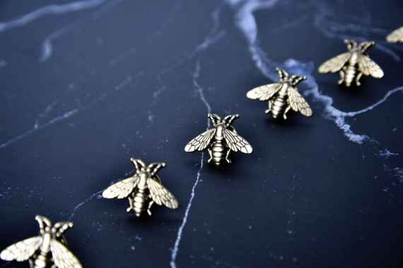 Brass Bee Pin MSP Store