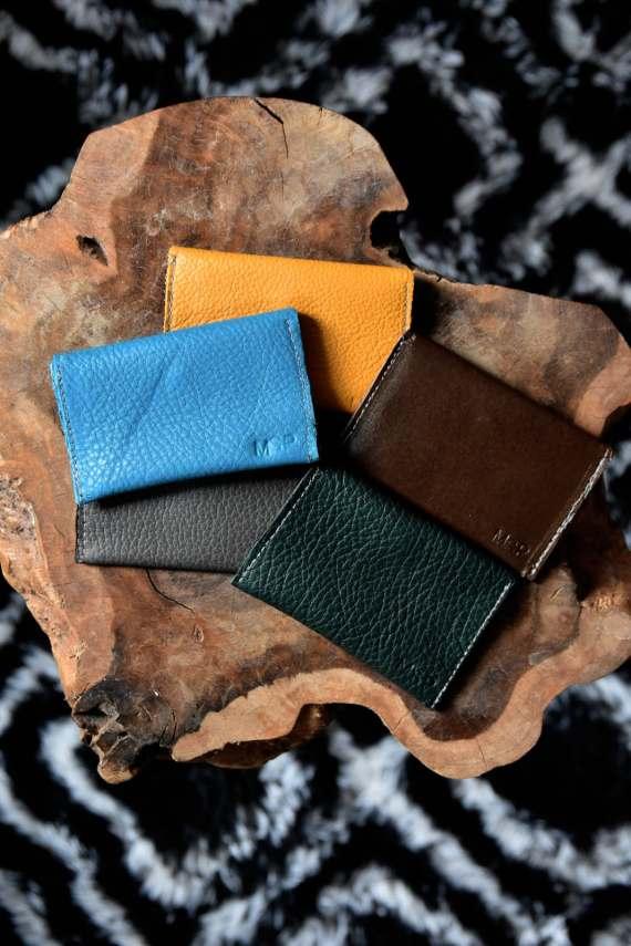 MSP Italian Leather Card Cases