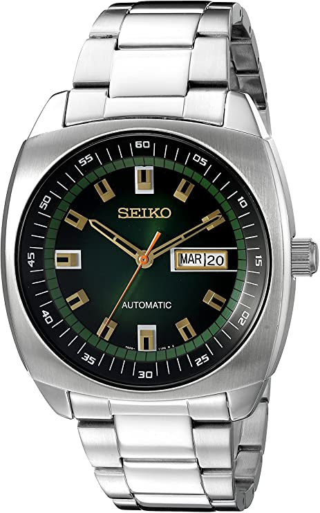 Seiko Analog Green Dial