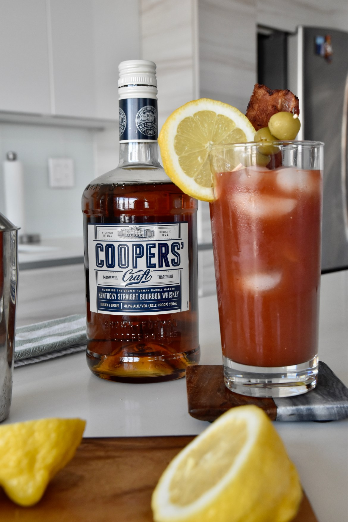 Coopers' Craft Bourbon Whiskey Mothers' Day Cocktail