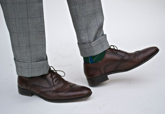 Glen Plaid Custom Suit by Imparali Custom tailor x Men's Style Pro
