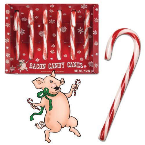 Bacon Candy Canes_Stocking Stuffers for Men under $5