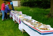 Menston Hall Jubilee 'Big Lunch' 16