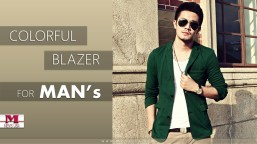 Men Colorful Blazer