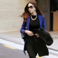blue color blazer