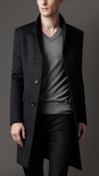 cashmere Long sport jacket