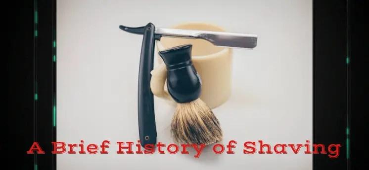 history of shaving