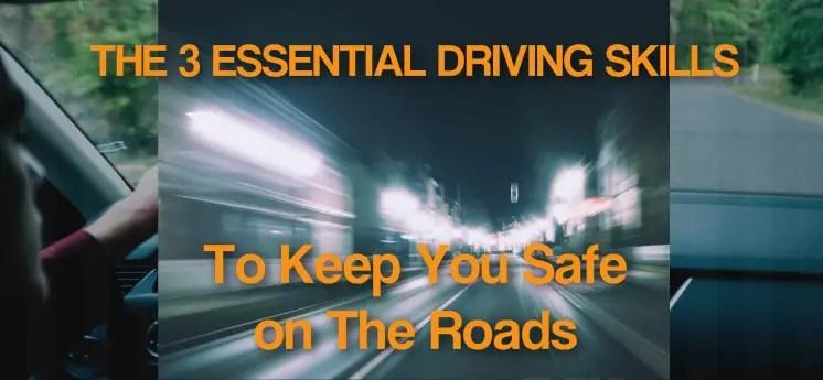 essential driving skills