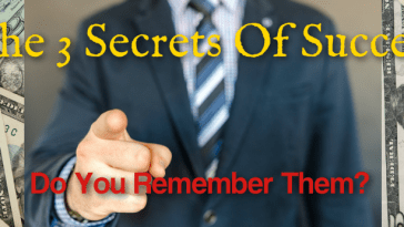 The 3 secrets of success every man should know and remember