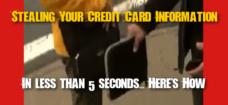How thieves steal your credit card information