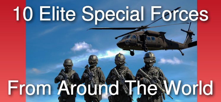 10 elite special forces