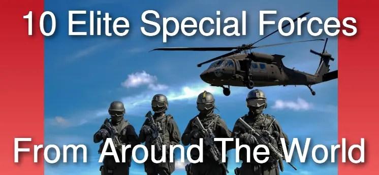 10 elite special forces