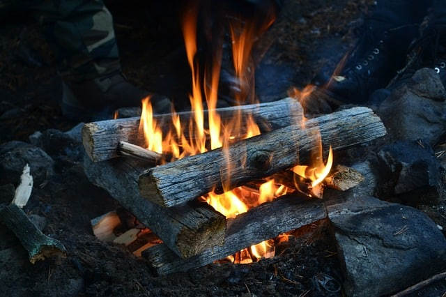 Fire building for survival. How to start a fire