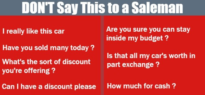 How to haggle for a new or used car