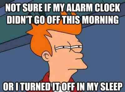 oversleeping meme