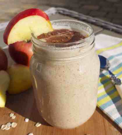 apple and grains healthy smoothies