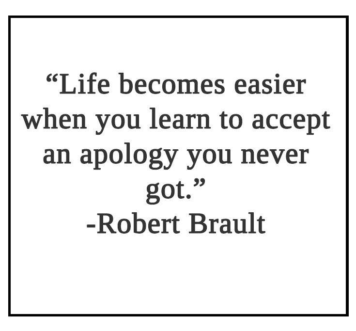 Life becomes easier when you learn to accept Quote