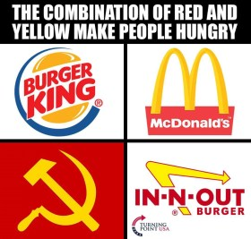 Red and Yellow Make People Hungry