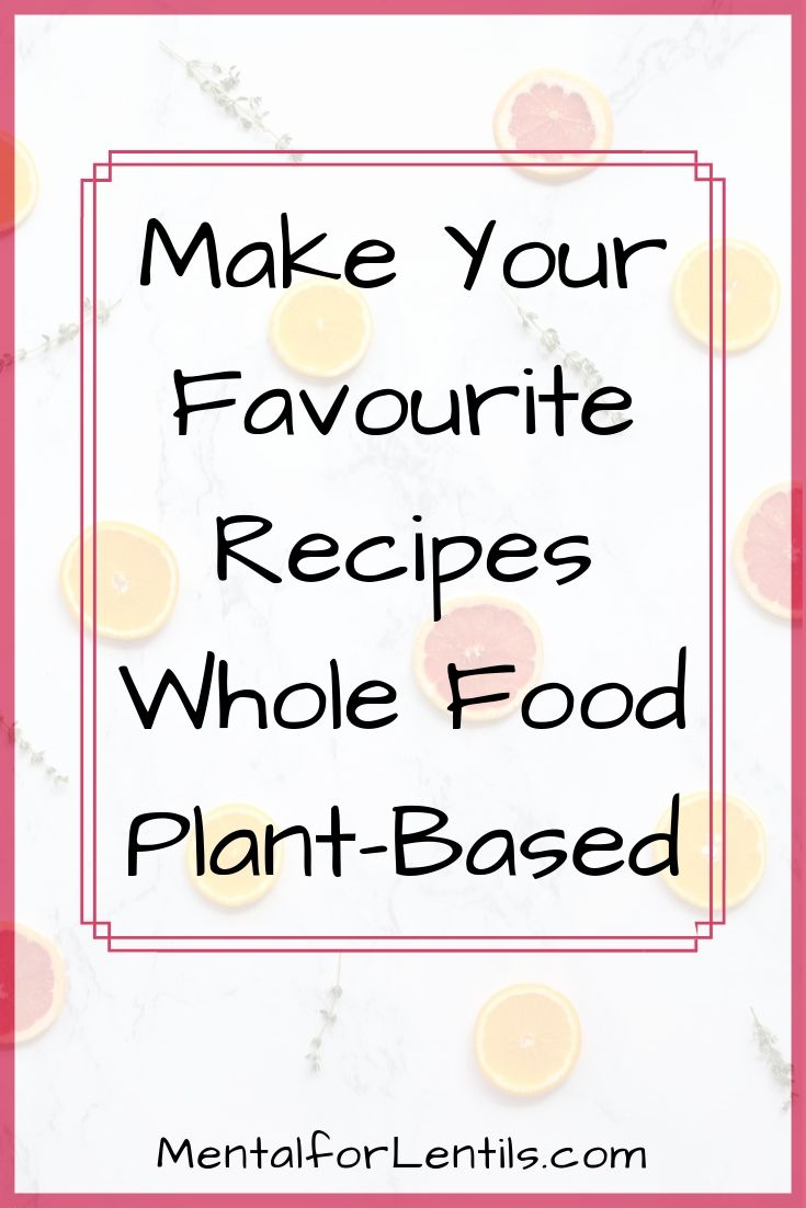 plant-based baking pin