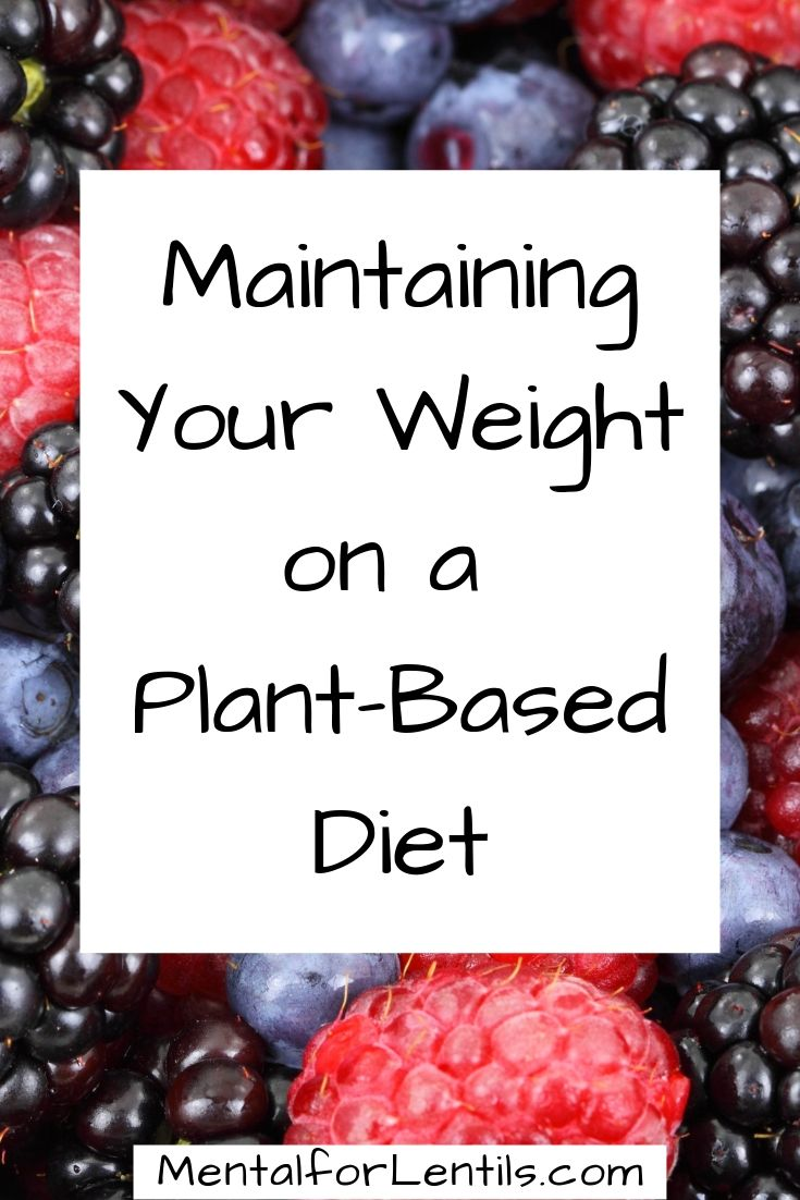 pin image for maintaining your weight