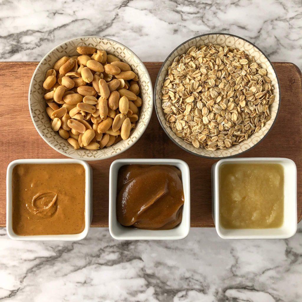 peanut butter granola ingredients